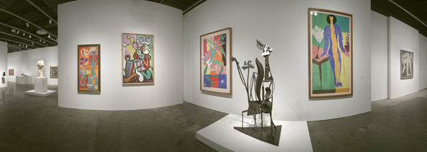 MoMA NY Picasso Mastisse Exhibit